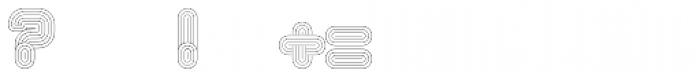 Alt Retro Thin Font OTHER CHARS