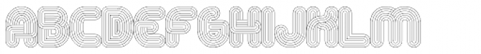 Alt Retro Thin Font UPPERCASE