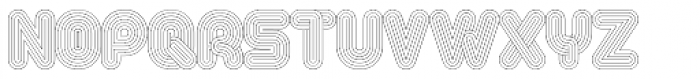 Alt Retro Thin Font LOWERCASE