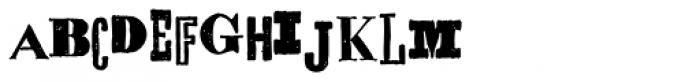 Alta California Font UPPERCASE