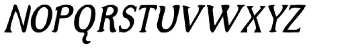Alta Italic Iza W Font UPPERCASE