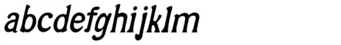 Alta Italic Iza W Font LOWERCASE
