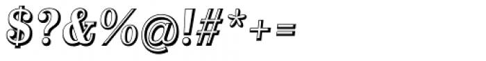 Alta Mesa Open Regular Italic Font OTHER CHARS