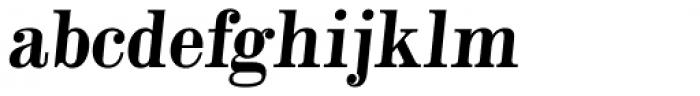Alta Mesa Plain Regular Italic Font LOWERCASE