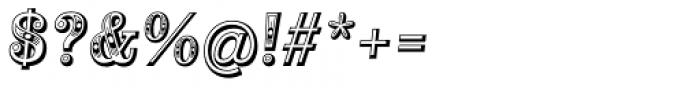 Alta Mesa Regular Italic Font OTHER CHARS