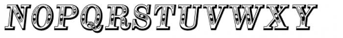 Alta Mesa Regular Italic Font UPPERCASE