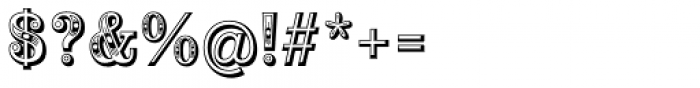 Alta Mesa Regular Font OTHER CHARS