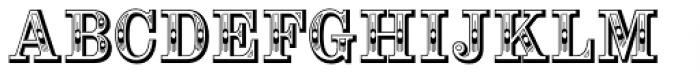 Alta Mesa Regular Font UPPERCASE