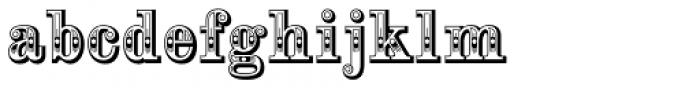 Alta Mesa Regular Font LOWERCASE