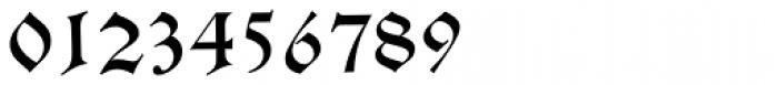 Alte Schwabacher EF Regular Font OTHER CHARS