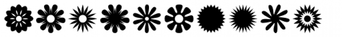 Altemus Bursts Font UPPERCASE
