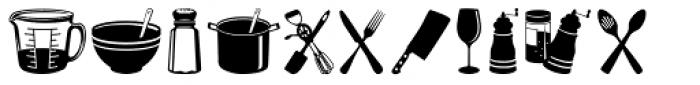 Altemus Kitchen Font UPPERCASE