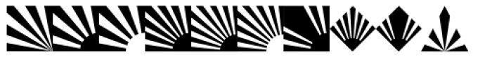 Altemus Rays Bold Font LOWERCASE