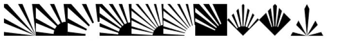 Altemus Rays Font UPPERCASE