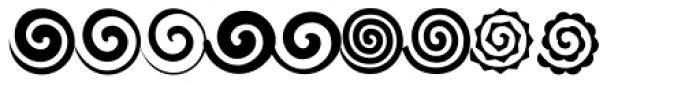 Altemus Spirals Font UPPERCASE