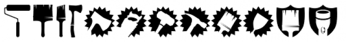 Altemus Toolkit Font UPPERCASE