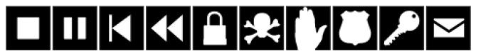 Altemus Web Icons Font LOWERCASE