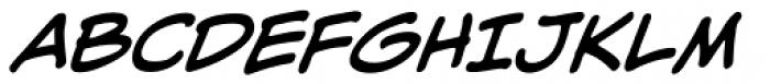 Alter Ego BB Italic Font UPPERCASE