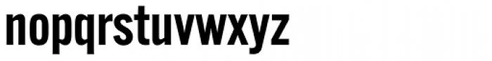 Alternate Gothic ATF Demi Font LOWERCASE