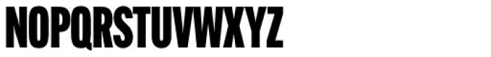 Alternate Gothic Comp ATF Black Font UPPERCASE