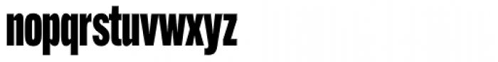 Alternate Gothic Comp ATF Black Font LOWERCASE