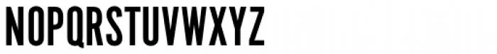 Alternate Gothic No1 Pro Font UPPERCASE