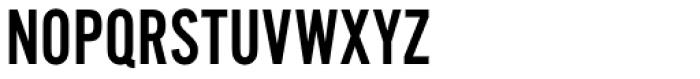 Alternate Gothic No2 Pro Font UPPERCASE