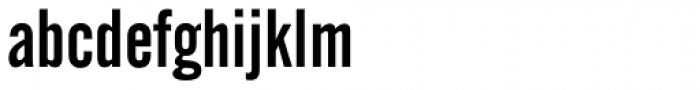 Alternate Gothic No.2 Font LOWERCASE