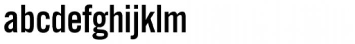 Alternate Gothic Pro EF No Three Font LOWERCASE