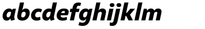 Altivo Bold Italic Font LOWERCASE