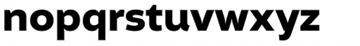 Altivo Bold Font LOWERCASE