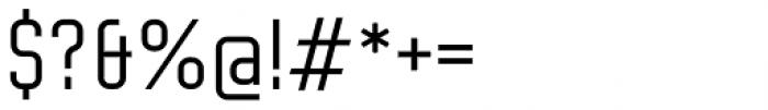Altum Sans Medium Font OTHER CHARS