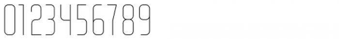 Altum Sans Thin Font OTHER CHARS