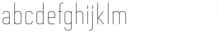 Altum Sans Thin Font LOWERCASE