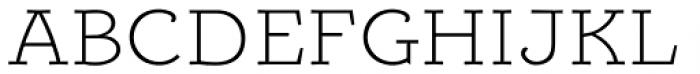 Alumina 33 XLight Ex Font UPPERCASE