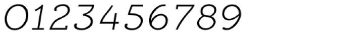 Alumina 34 XLight Ex Italic Font OTHER CHARS