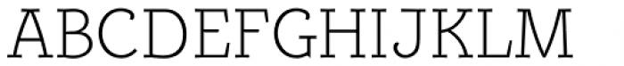 Alumina 35 XLight Font UPPERCASE