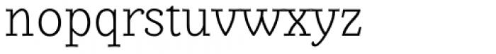 Alumina 35 XLight Font LOWERCASE