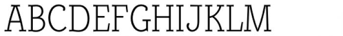 Alumina 37 XLight Condensed Font UPPERCASE