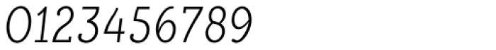 Alumina 38 XLight Condensed Italic Font OTHER CHARS