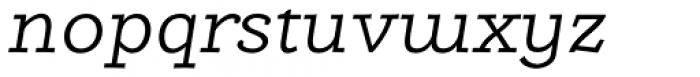 Alumina 44 Light Ex Italic Font LOWERCASE