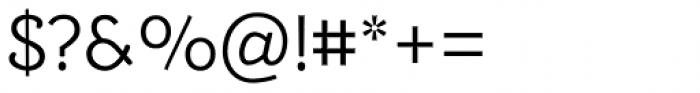 Alumina 45 Light Font OTHER CHARS