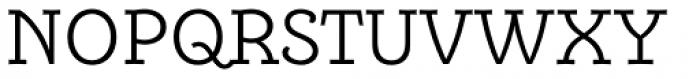 Alumina 45 Light Font UPPERCASE