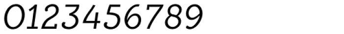 Alumina 46 Light Italic Font OTHER CHARS