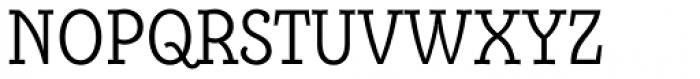 Alumina 47 Light Condensed Font UPPERCASE
