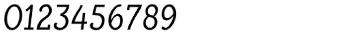 Alumina 48 Light Condensed Italic Font OTHER CHARS