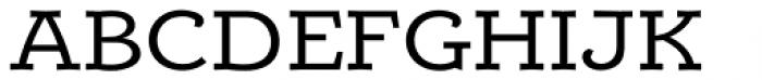 Alumina 53 Roman Ex Font UPPERCASE