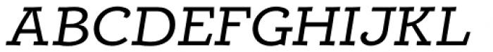 Alumina 54 Roman Ex Italic Font UPPERCASE