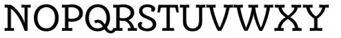 Alumina 55 Roman Font UPPERCASE