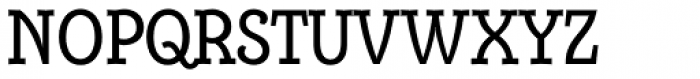 Alumina 57 Roman Condensed Font UPPERCASE